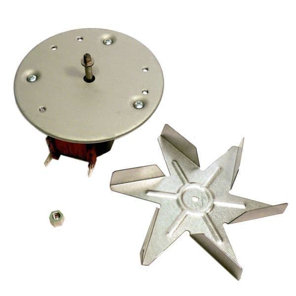 Genuine Universal Hotpoint, Indesit, Creda, Cannon, Ariston, Electrolux, Fagor Fan Oven Motor   Spares4Homes
